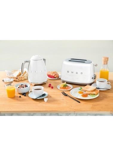 Smeg TSF01WHEU Linea 50's Retro Style Beyaz İkili Ekmek Kızartma Makinesi Beyaz